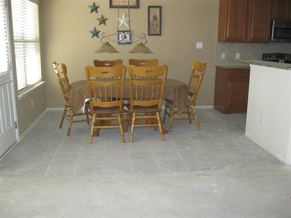 Orange County tile floor
