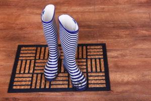 Door mat - Floor Coverings International Orange County