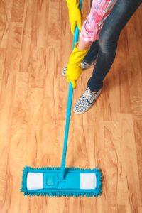 Floor Coverings International Orange County - Sweep Hardwood Floors