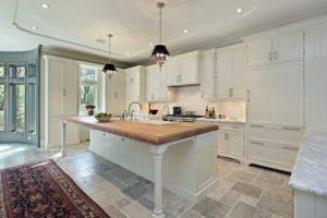 FCI Orange County - Kitchen Tile Floors